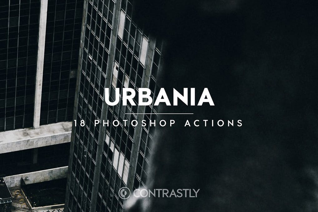 Urbania-Photoshop-Actions - 50+ BEST Photo Editing Photoshop Actions [year]