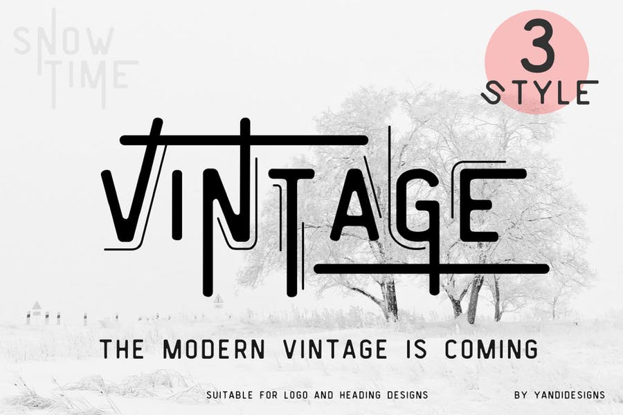 Vintage-Modern-Fonts - 38+ COOL Opentype SVG Fonts [year]
