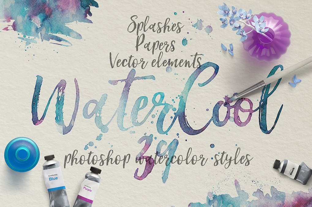 WaterCool-Kit - 50+ BEST Photo Editing Photoshop Actions [year]