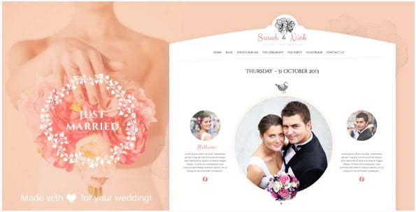 Wedding-Day - 35+ GREAT Wedding Invitation WordPress Themes [year]