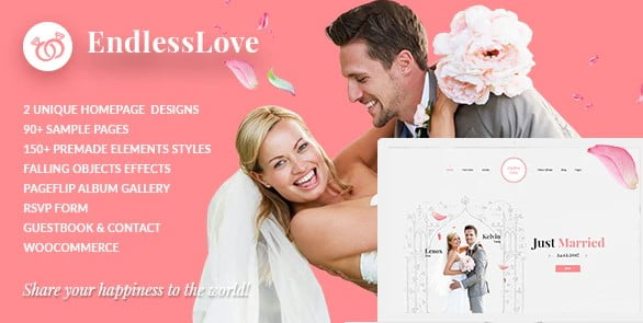 Wedding-WordPress - 35+ GREAT Wedding Invitation WordPress Themes [year]