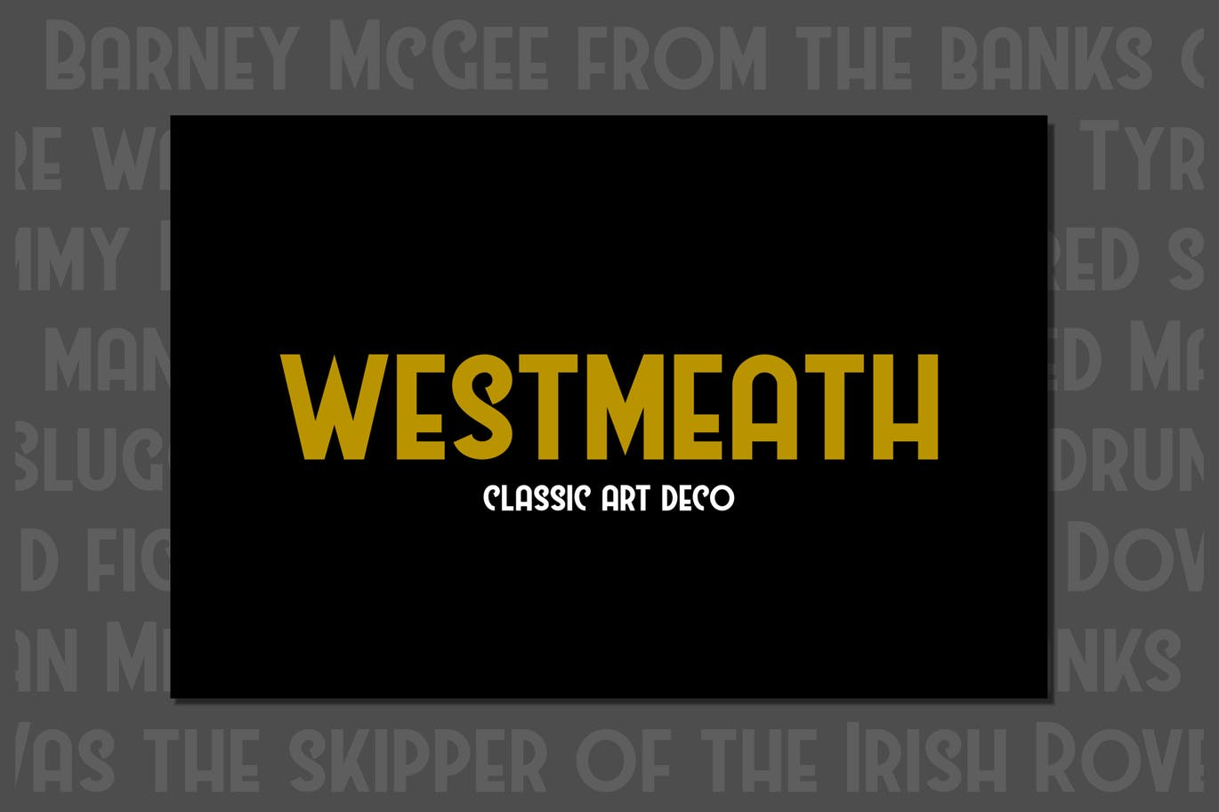 Westmeath-Pro - 50+ BEST Typography Logo Fonts [year]
