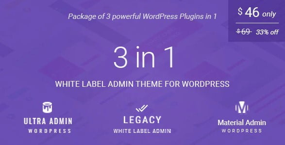 White-label-admin - 33+ BEST FREE WordPress Admin UI Themes [year]