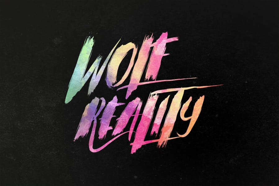 Wolf-Reality-Typeface - 38+ COOL Opentype SVG Fonts [year]