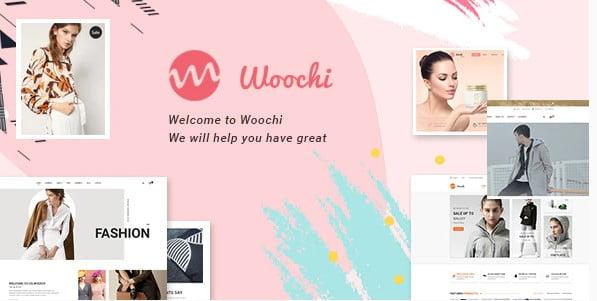 Woochi - 53+ Pretty Ecommerce WordPress Themes [year]