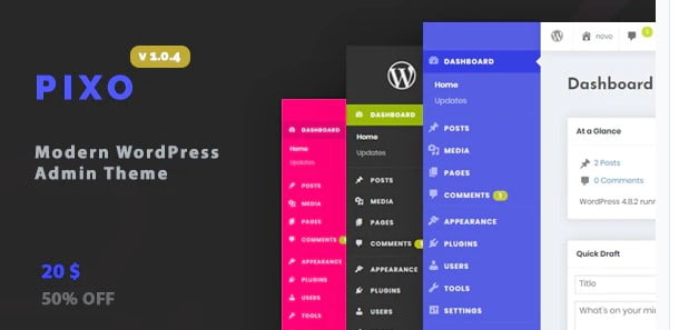 WordPress-Admin - 33+ BEST FREE WordPress Admin UI Themes [year]