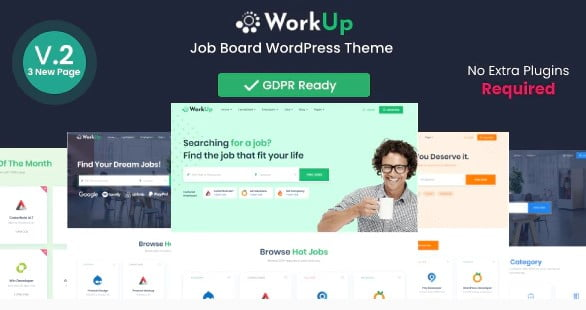 Workup - 33+ BEST FREE WordPress Admin UI Themes [year]