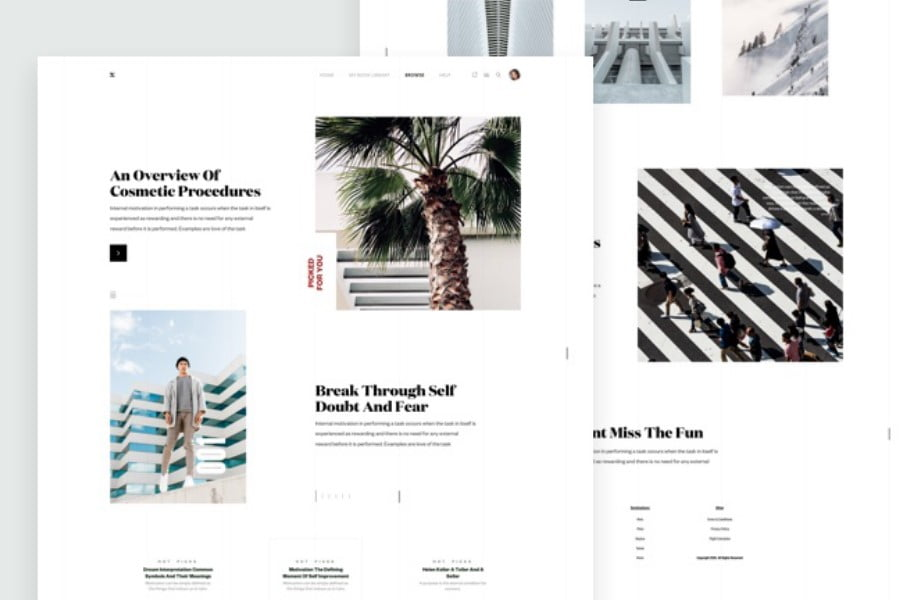 ZX-Lifestyle - 63+ FREE NICE Blog Layout Designs IDEA [year]