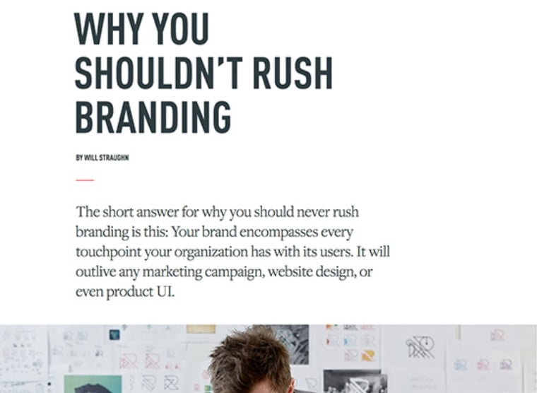 rush-branding - 63+ FREE NICE Blog Layout Designs IDEA [year]
