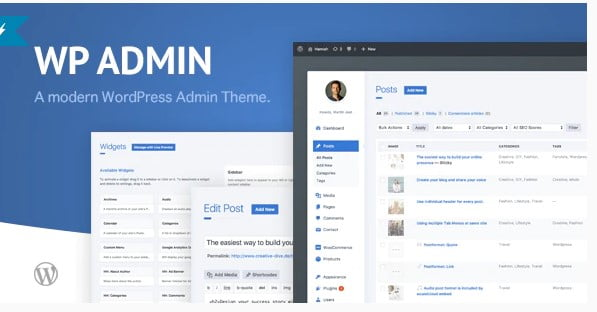 wphave-Admin - 33+ BEST FREE WordPress Admin UI Themes [year]
