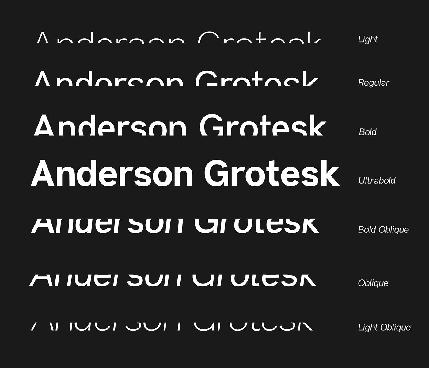 Anderson-Grotesk - 63+ BEST FREE Fontaholic Fonts [year]