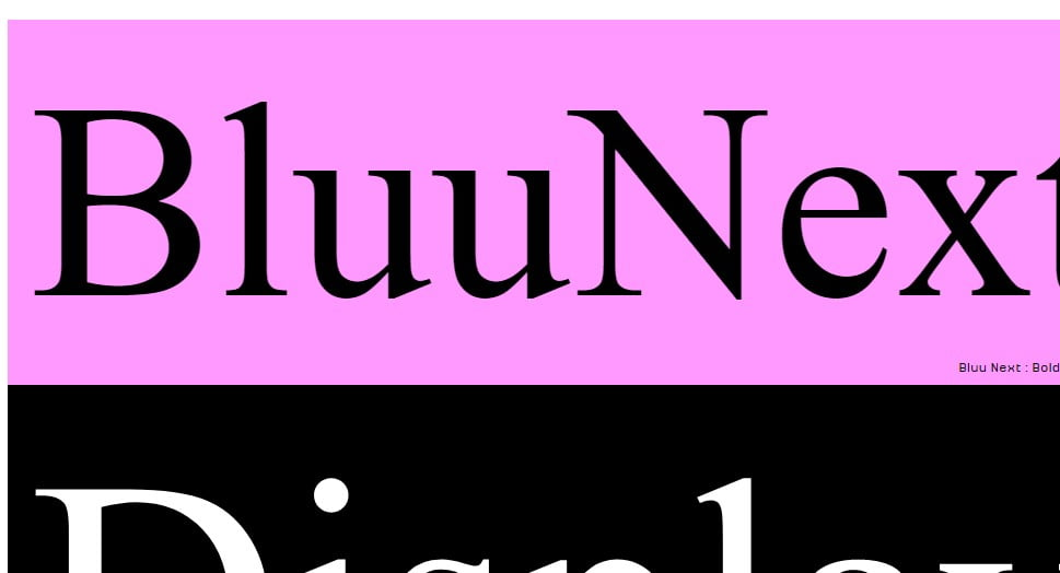 Bluu-Next - 63+ BEST FREE Fontaholic Fonts [year]