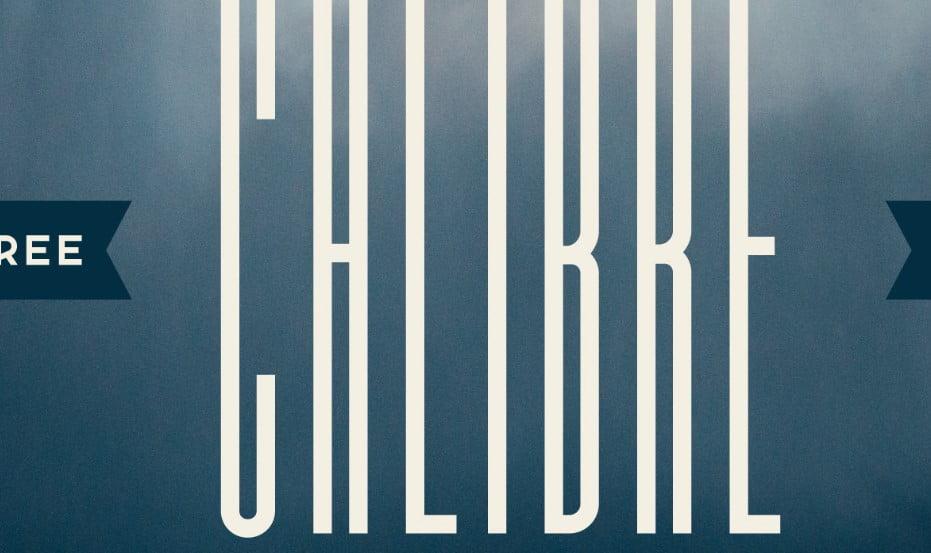 Calibre - 63+ BEST FREE Fontaholic Fonts [year]