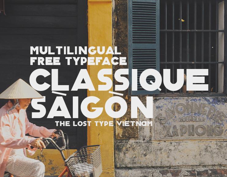 Classique-Saigon - 63+ BEST FREE Fontaholic Fonts [year]