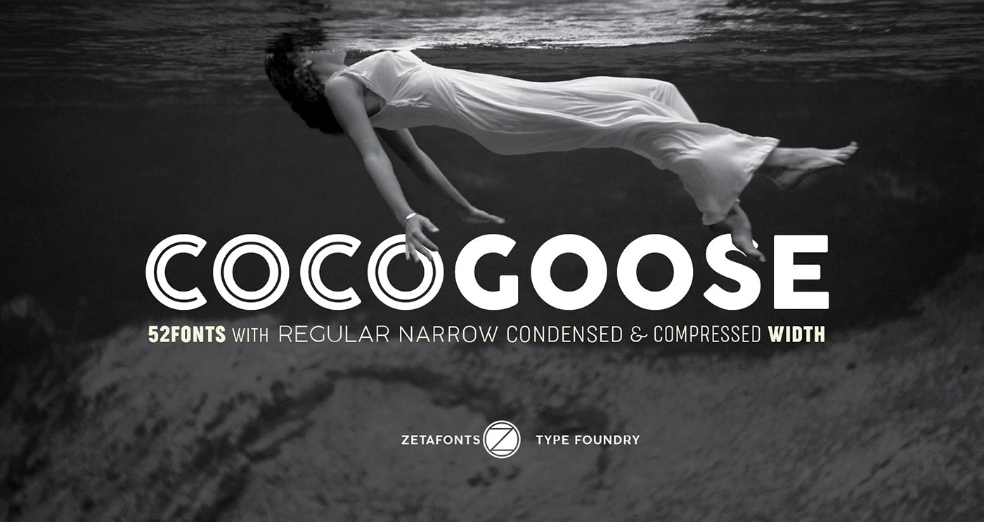 Cocogoose - 63+ BEST FREE Fontaholic Fonts [year]