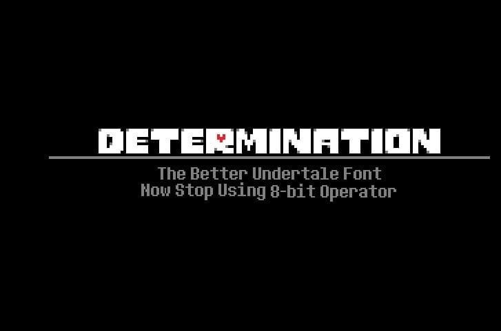 Determination - 63+ BEST FREE Fontaholic Fonts [year]