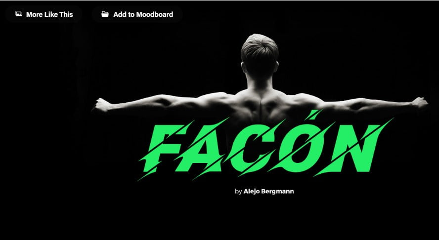 Facon-Free-Font - 63+ BEST FREE Fontaholic Fonts [year]