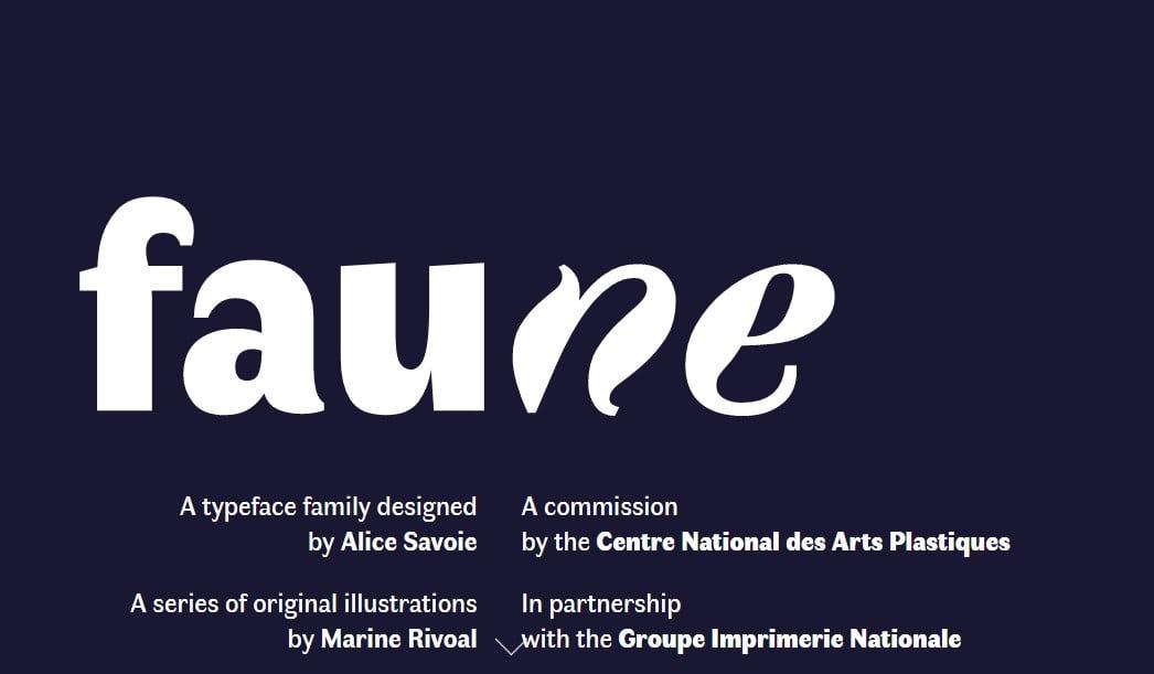 Faune - 63+ BEST FREE Fontaholic Fonts [year]