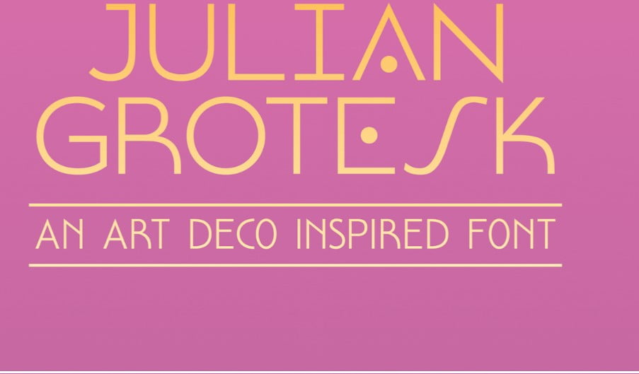 Julian-Grotesk - 63+ BEST FREE Fontaholic Fonts [year]
