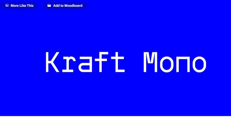 Kraft-mono - 63+ BEST FREE Fontaholic Fonts [year]