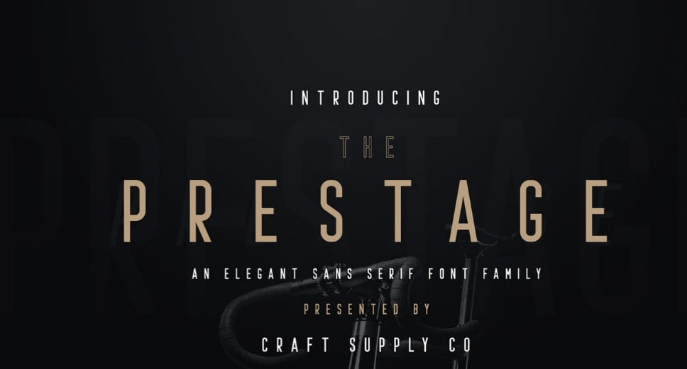 Prestage-Font-Family-1 - 63+ BEST FREE Fontaholic Fonts [year]