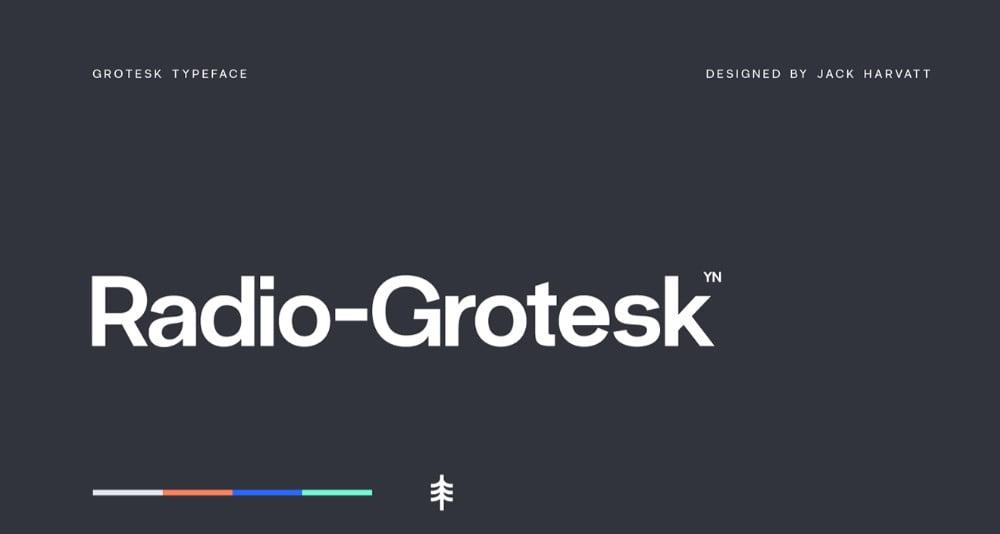 Radio-Grotesk - 63+ BEST FREE Fontaholic Fonts [year]