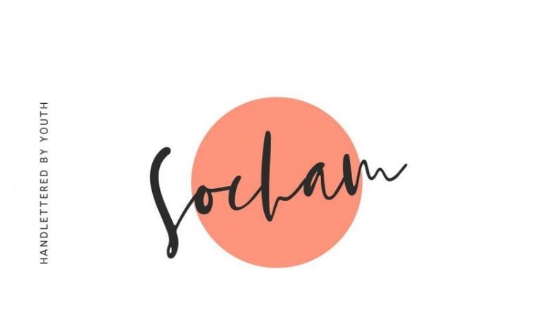 Socham-Script-Font - 63+ BEST FREE Fontaholic Fonts [year]