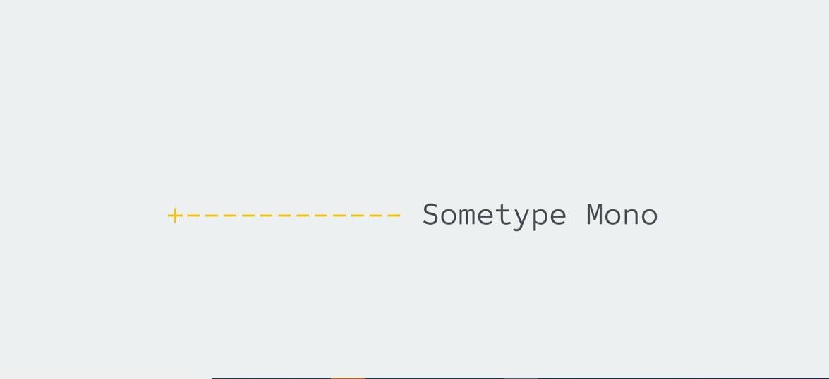 Sometype-Mono - 63+ BEST FREE Fontaholic Fonts [year]