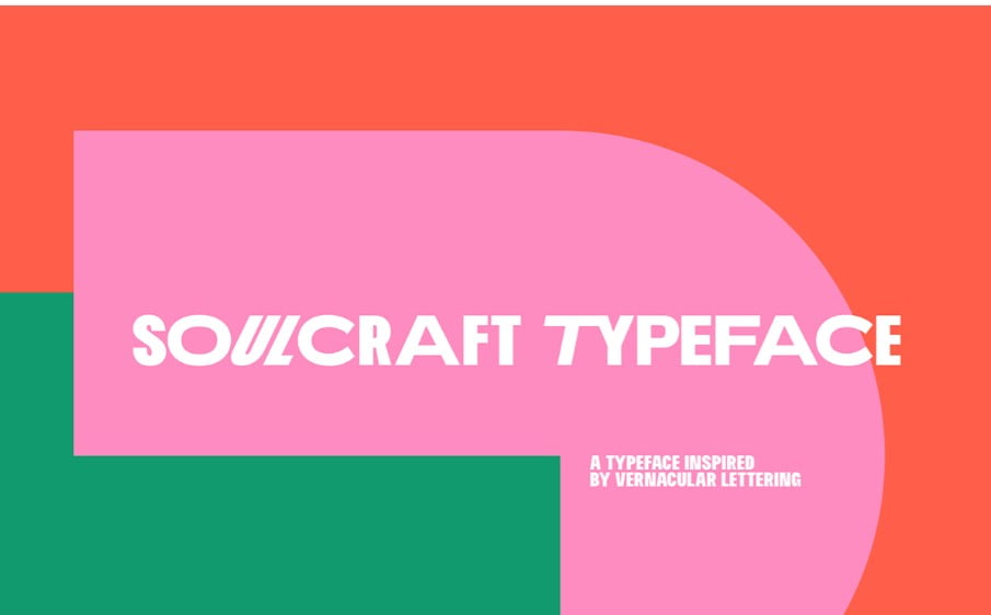 Soulcraft-Typeface - 63+ BEST FREE Fontaholic Fonts [year]