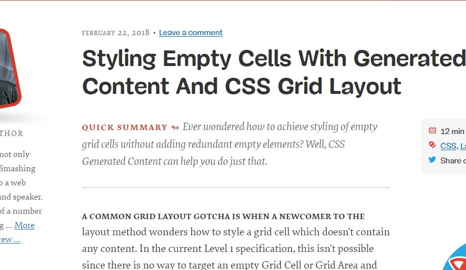 Styling-Empty-Cells - 38+ FREE CSS Grid Layout EXAMPLE [year]