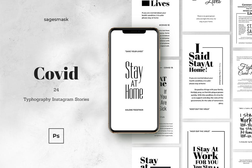 Covid - 39 BEST FREE Bold Typography Web Designs