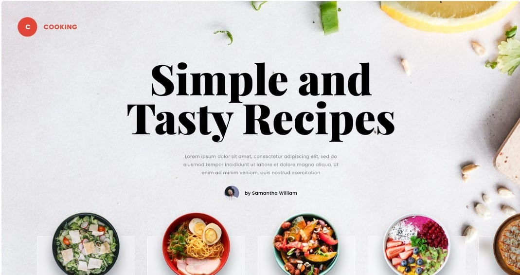 Exploration - 39 BEST FREE Bold Typography Web Designs