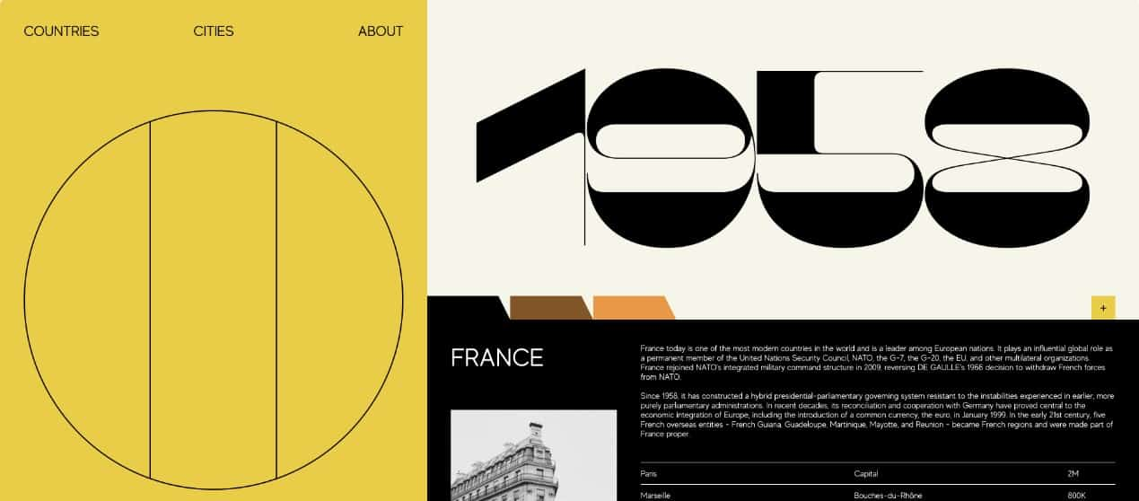 Guide - 39 BEST FREE Bold Typography Web Designs