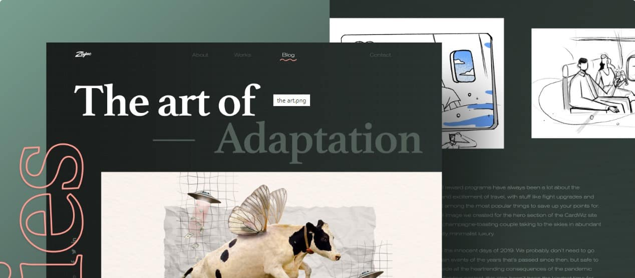 New-Blog-Article - 39 BEST FREE Bold Typography Web Designs