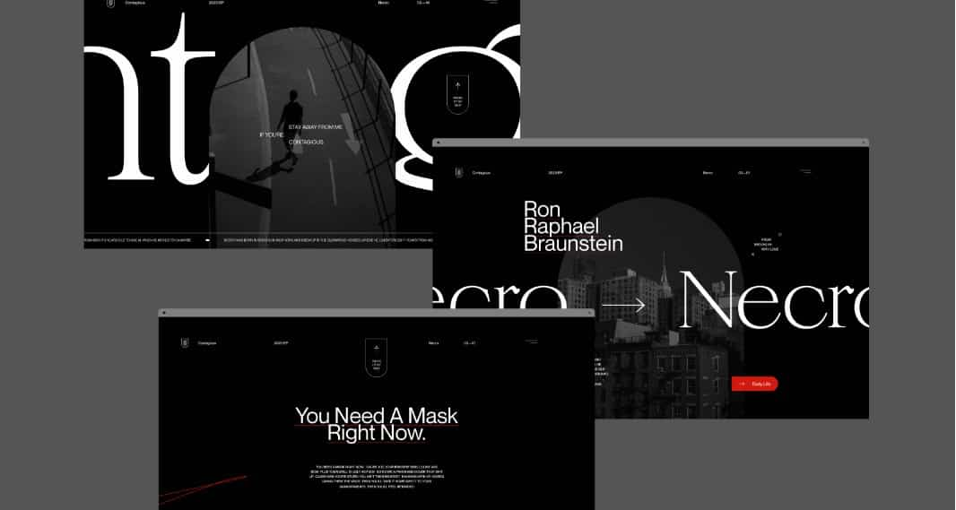 Type-Layout-Explorations - 39 BEST FREE Bold Typography Web Designs