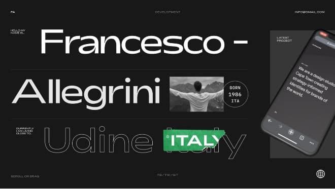 Website-Concept - 39 BEST FREE Bold Typography Web Designs